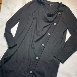 COS Long Asymmetrical Sweater Cardigan